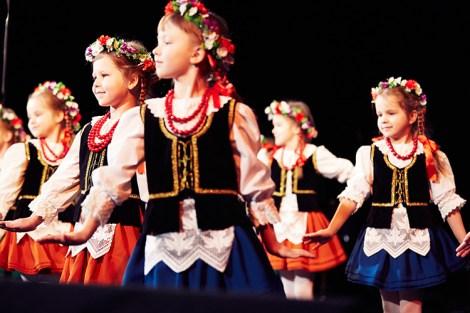 Dzieci podeszły do występu bardzo profesjonalnie  Fot. Bartosz Frątczak, wilnoteka.lt