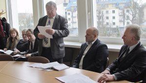 Sprawozdanie przedstawił gł. specjalista ds. bezpieczeństwa cywilnego i pracy Tadeusz Czerniawski
