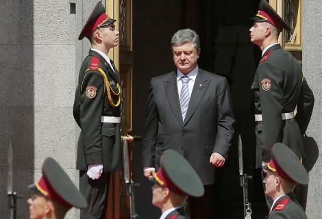 Majątek przywódcy Ukrainy Petra Poroszenki szacuje się na ponad 850 mln dolarów Fot. EPA-ELTA
