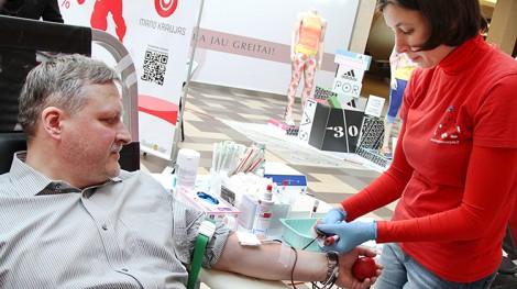 Dzięki nowej aplikacji mobilnej oddanie krwi stanie się o wiele łatwiejsze Fot. Marian Paluszkiewicz