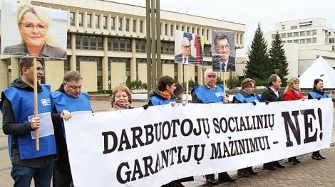 Protestujący zapowiadają, że to tylko początek walki przeciwko rządowym zamiarom liberalizacji KP Fot. Marian Paluszkiewicz