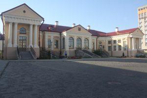 """Piękny pałac Mateusza Butrymowicza z końca XVIII stulecia Kraszewski nazywał """"frant na wsi"""""""