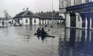 U zbiegu ulic Mostowej i Wileńskiej Fot.archiwum