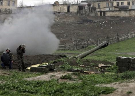 W Górskim Karabachu giną ludzie Fot. ELTA
