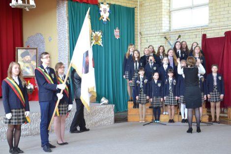 27 kwietnia odbyła się uroczysta inauguracja Gimnazjum im. Stefana Batorego w Ławaryszkach/Fot.vrsa.lt