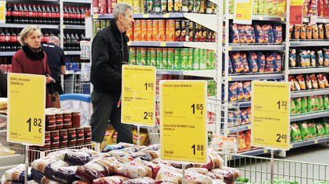 Zgodnie z danymi statystycznymi roczna zmiana cen usług i produktów wzrosła o 1,2 procent Fot. archiwum