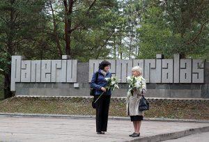 Ponary, miejsce masowych mordów dokonywanych przez oddziały SS, policji niemieckiej i kolaboracyjnej policji litewskiej Fot. Marian Paluszkiewicz