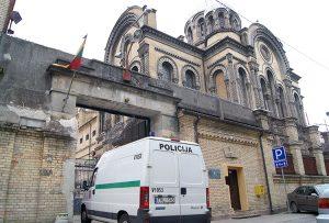 Więzienie na Łukiszkach. W trakcie okupacji niemieckiej do więzienia przywożono Żydów z Getta, których potem rozstrzeliwano w Ponarach Fot. Marian Paluszkiewicz