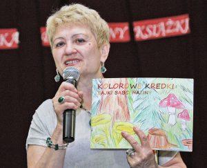 Halina Janczuńska zdradziła, że bohaterów swoich książek wybiera, opierając się na sympatiach i propozycjach własnych wnuków Fot. Marian Paluszkiewicz
