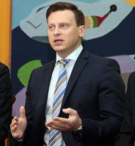 Valdas Benkunskas Fot. Marian Paluszkiewicz