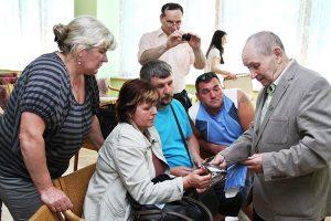 Wzruszające spotkanie po latach z krewnymi z Łotwy i Nowej Wilejki Fot. Marian Paluszkiewicz