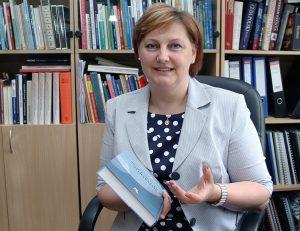 Kierownik Centrum doc. dr Henryka Sokołowska podkreśla, jak ważna jest pomoc Polski Fot. Marian Paluszkiewicz