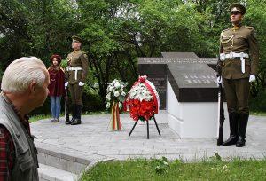 Tegoroczne obchody rocznicowe odbyły się z udziałem również strony litewskiej Fot. Marian Paluszkiewicz