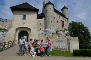 Delegacja z Mickun zwiedziła piękne okolice gminy Poraj  Fot.vrsa.lt