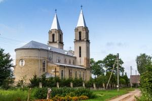 Kościół w Nowych Święcianach pw. św. Edwarda Fot. Marian Paluszkiewicz