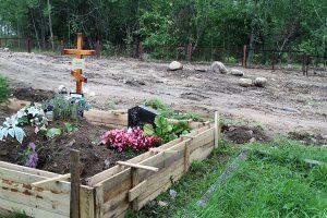 Cmentarz w Raczkunach jest przepełniony i już od lat potrzebował poszerzenia terytorium Fot. Marian Paluszkiewicz