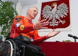 Dziś Krzysztof Jarzębski jest reprezentantem Polski w konkurencji kolarstwo dla niepełnosprawnych Fot. Marian Paluszkiewicz