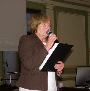 Przemówienie Bożeny Kisiel otwierające jubileusz 25-lecia Pomorskiego Oddziału TMWiZW Fot. z osobistego archiwum Bożeny Kisiel