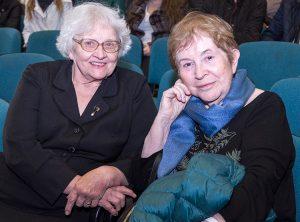 Hanna Strużanowska-Balsienė i Tamara Ben Amram (z domu Widuczańska) znów razem po 72 latach Fot. Marian Paluszkiewicz