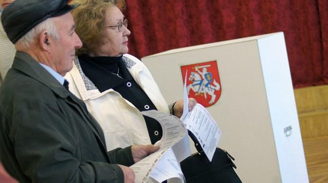 Polskich kandydatów widać przede wszystkim w okręgach jednomandatowych, w których przeważa ludność nielitewska