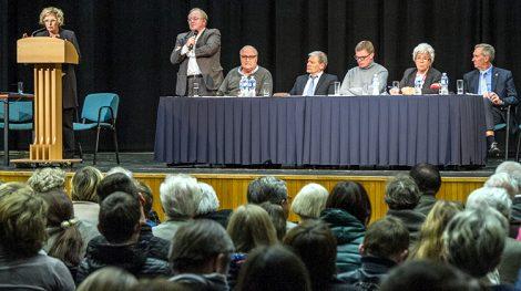 Podczas konferencji ponarskiej mówiono o potrzebie mówienia prawdy  Fot. Marian Paluszkiewicz