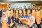 Prezydent dała start akcji Banku Żywności w Wilnie
