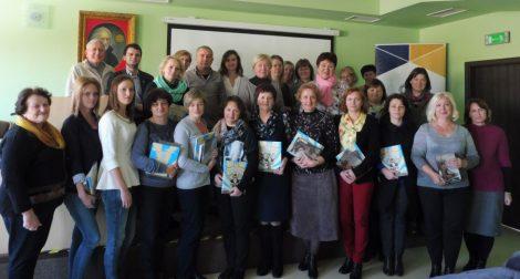 Projekt edukacyjny dla nauczycieli  ma na celu podwyższanie kwalifikacji zawodowych  Fot. archiwum uczestników