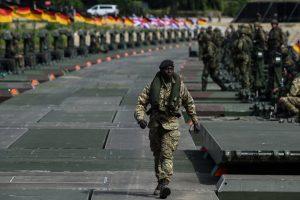 Niemieccy żołnierze brali udział w ćwiczeniach Anakonda-16, który miały miejsce w Polsce od 7 a 17 czerwca br.Fot. Zbyszek Kaczmarek, Gazeta Polska