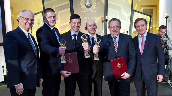 W czwartkowym finale konkursu Polish Business Awards 2016, który odbył się w wileńskim Klubie Kupieckim, nagrodzeni zostali tegoroczni zwycięzcy Fot. Marian Paluszkiewicz