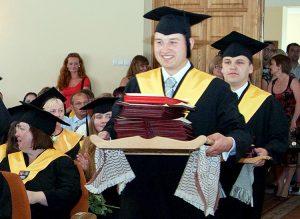 Na wyższych uczelniach Litwy kształci się 126 tys. studentów Fot. Marian Paluszkiewicz