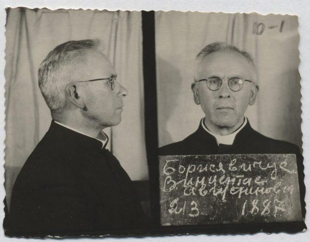Biskup Vincentasa Borisevičiusa przez 4 lata był biskupem pomocniczym diecezji telszewskiej, a od 1944 r. jej ordynariuszem Fot. archiwum Kurii w Telszach