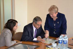 Głównym celem wizyty było nawiązanie współpracy Fot vrsa.lt