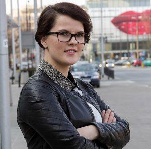 """""""Widzę w Polsce większe perspektywy, doskonale się odnalazłam"""" — mówi Małgorzata Aleksandrowicz Fot. Jolanta Paluszkiewicz"""