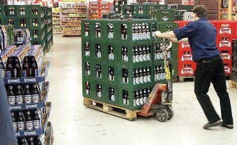 Zmiany przewidują drastyczny wzrost akcyzy na niskoprocentowe napoje alkoholowe do 2020 roku Fot. Marian Paluszkiewicz