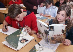 Badanie wykazało, że jakościowe nauczanie litewskiego oferuje zaledwie każda ósma szkoła na Litwie Fot. Marian Paluszkiewicz