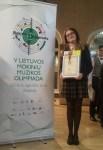 Brązowy medal dla uczennicy z Awiżeń