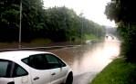 Wtorkowe ulewy na Litwie, czyli powódź na bis