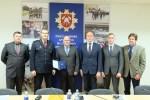 Przedstawiciele Samorządu Rejonu Wileńskiego nagrodzeni odznakami i zaświadczeniami ochotniczej straży pożarnej
