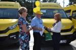 Uczniowie Szkoły Podstawowej w Duksztach rej. wileńskiego będą mieli nowy żółty autobus szkolny