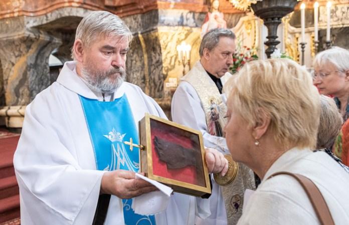 Relikwie św. ojca Pio przybyły do Wilna