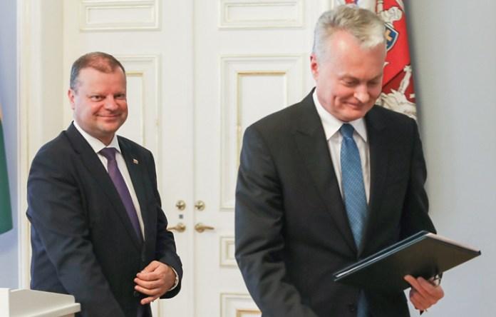 Skvernelis i Nausėda – najbardziej wpływowymi politykami na Litwie