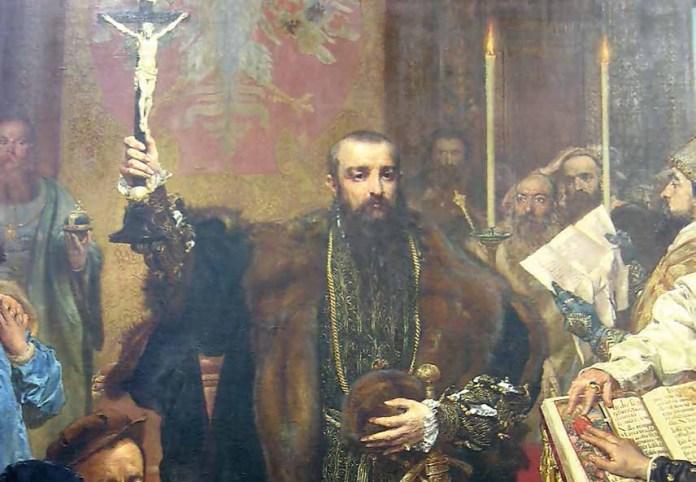 Zawarcie unii lubelskiej 1 lipca 1569 r.