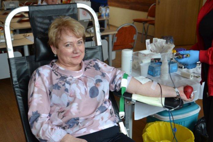 Akcja krwiodawstwa w Samorządzie Rejonu Wileńskiego