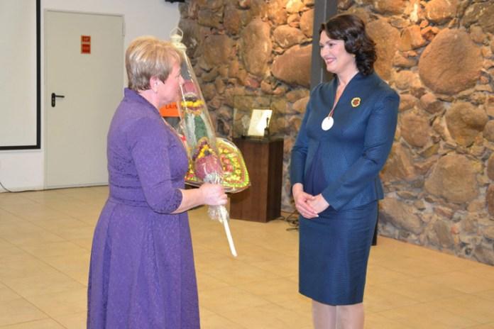 Pierwsza dama świętowała ze wspólnotą Miednik odzyskanie niepodległości Litwy