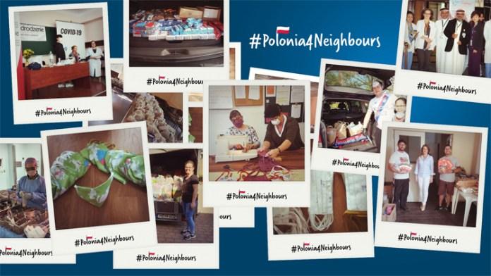 #Polonia4Neighbours. Polacy pomagają sąsiadom