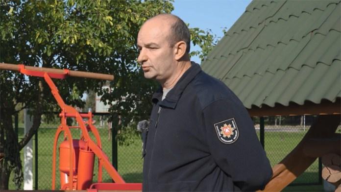 """Witalij Szimkonis, strażak z Solecznik: """"Dobry strażak, to ten który się boi"""""""