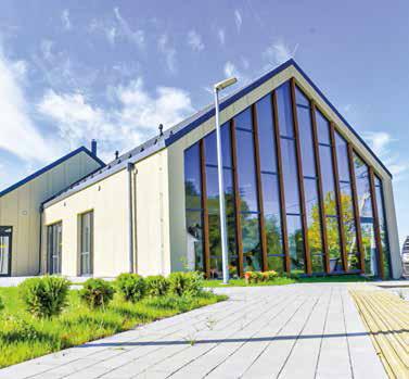 Otwarcie odnowionego Ośrodka Kultury w Sawiczunach