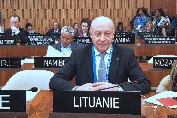 Dyrektor Biblioteki Mažvydasa Gudauskas wybrany na członka komitetu UNESCO