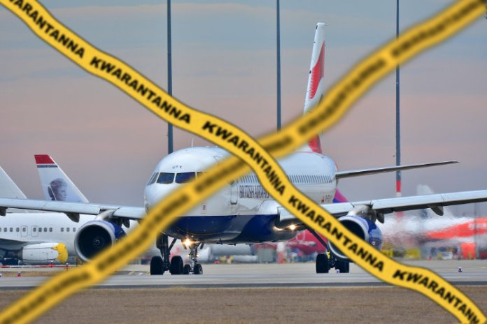Lot wstrzymany z powodu kwarantanny.