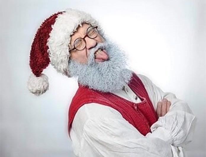 Święty Mikołaj w czasie pandemii pracuje zdalnie